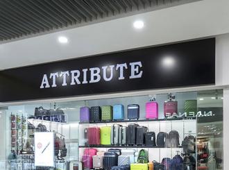 Attribute - мебель для магазина сумок и аксессуаров