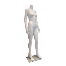 ПH-5 Манекен жіночий без голови білий