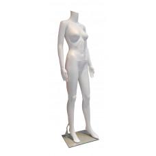 ПH-5 Манекен женский без головы белый