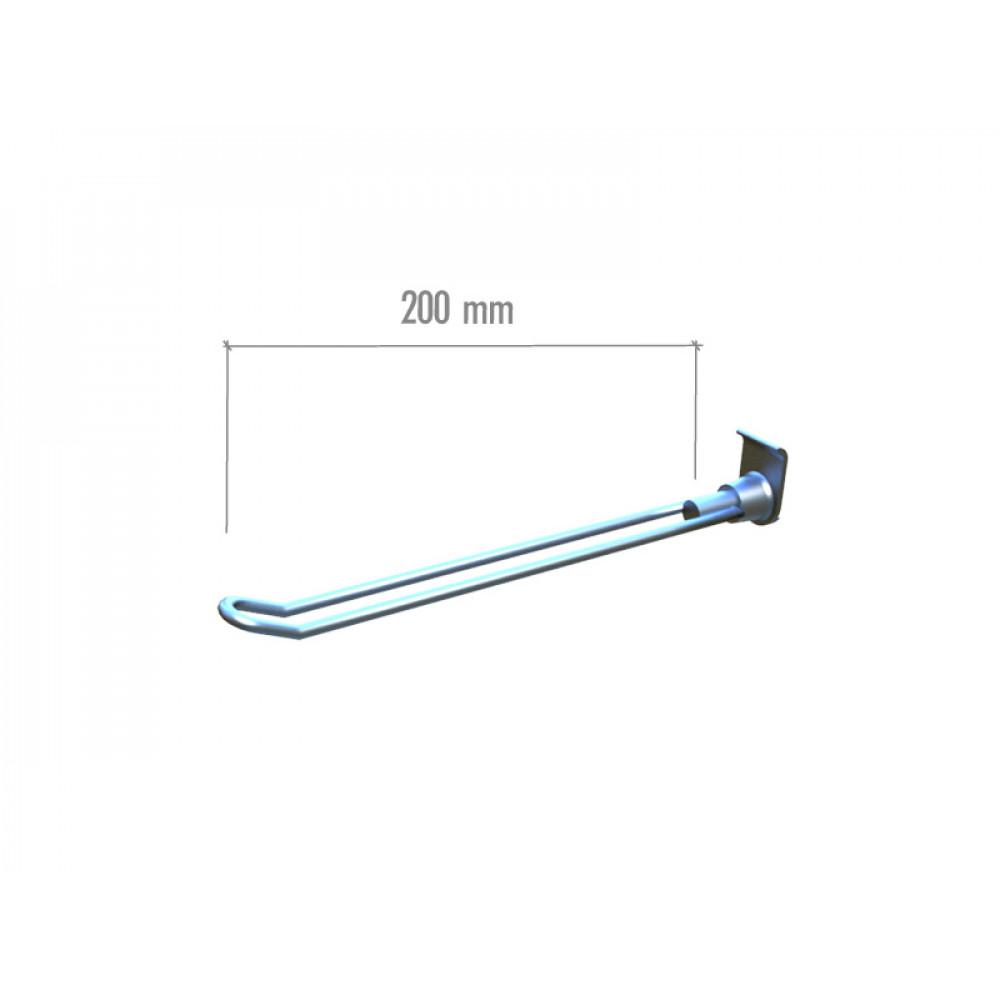 ML15 Крючок двойной 200мм.