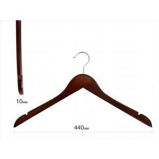 Плечики для одежды type 01ВМ (без перекладины, махонь)