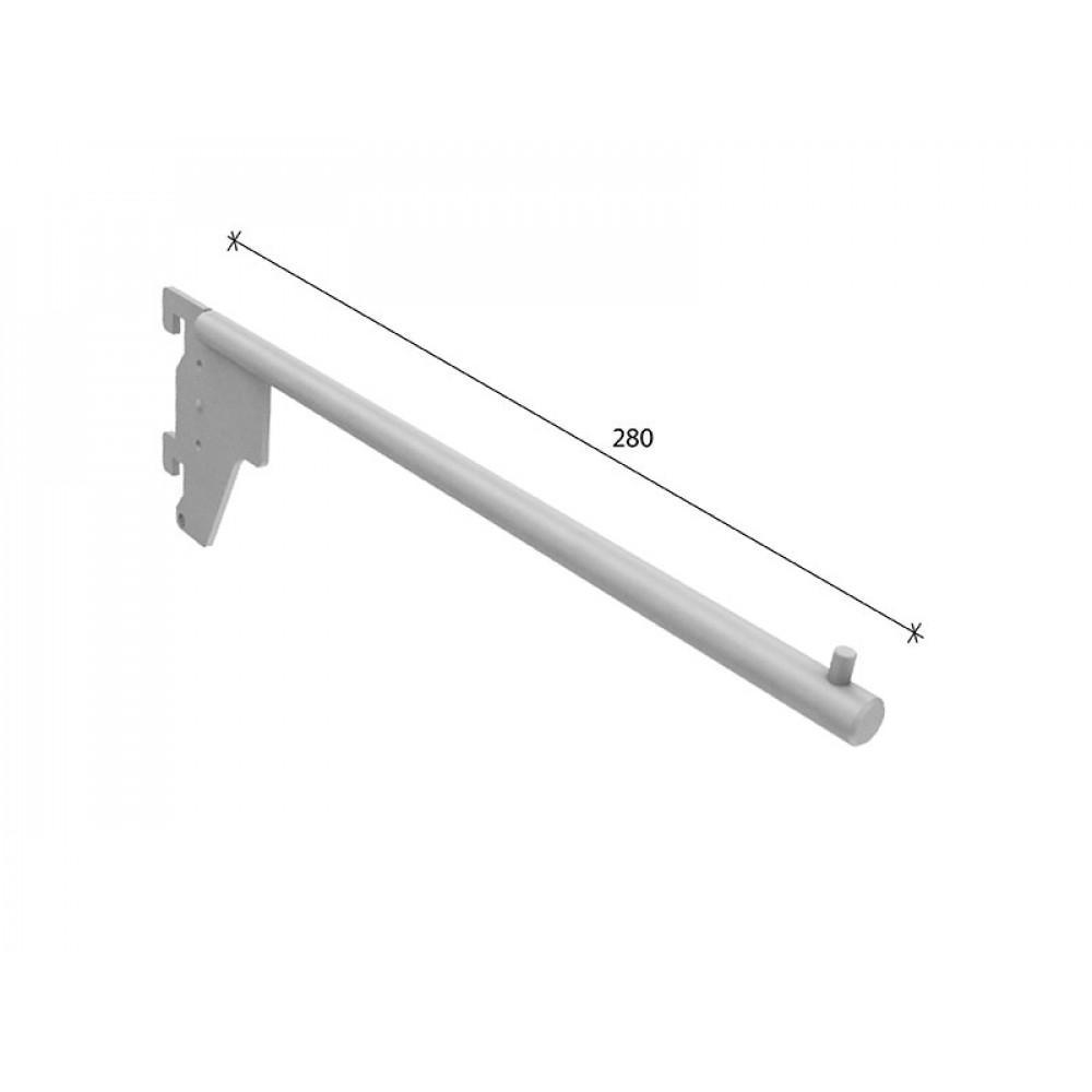 SL-H008 Кронштейн прямой 280мм (труба dm12 mm)