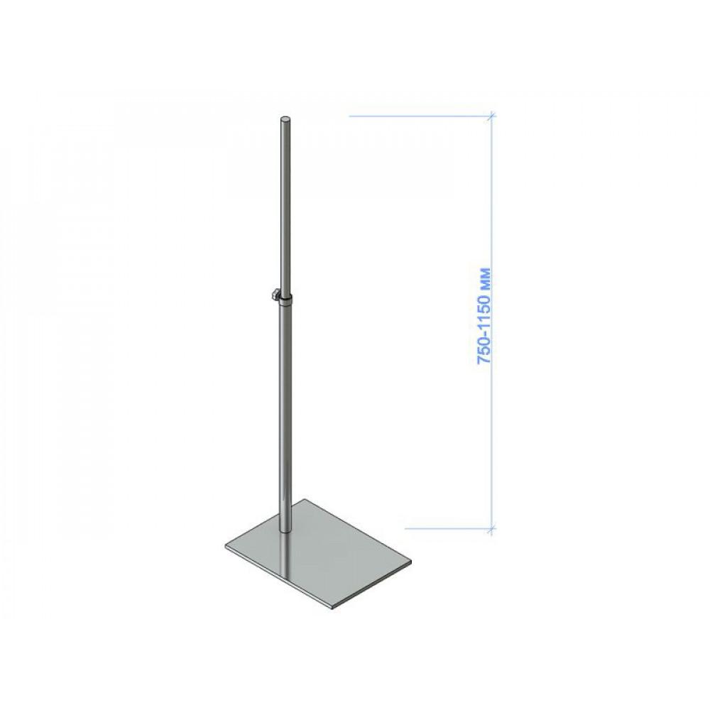 3200/С Подставка для торса хром