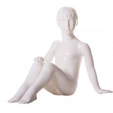 Манекен дитячий 61 KFS / 001 (білий глянець)