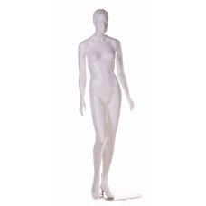 Манекен жіночий білий реалістичний без макіяжу, TA-3w/Mic