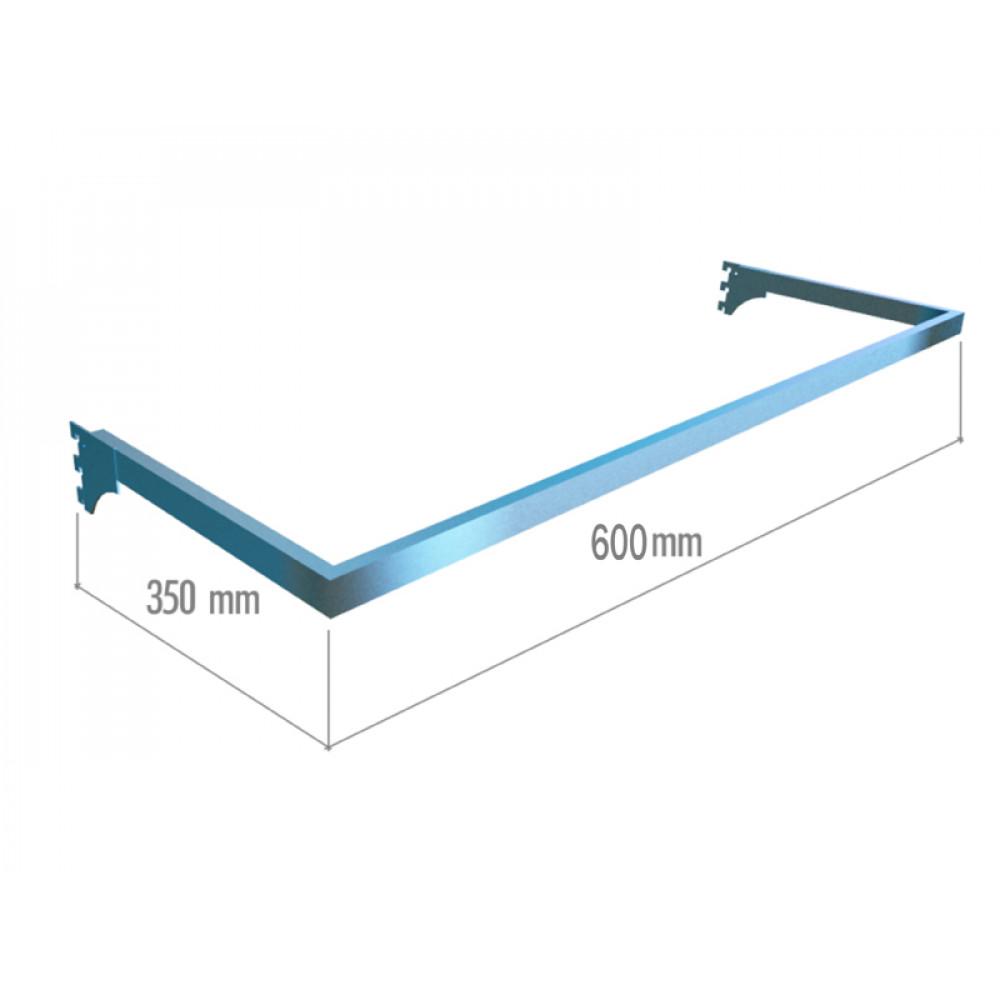 VR 6046b (K) Рамка тип U (600*350) хром.