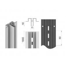 MS-01/1900 Профиль алюминиевый 1900мм