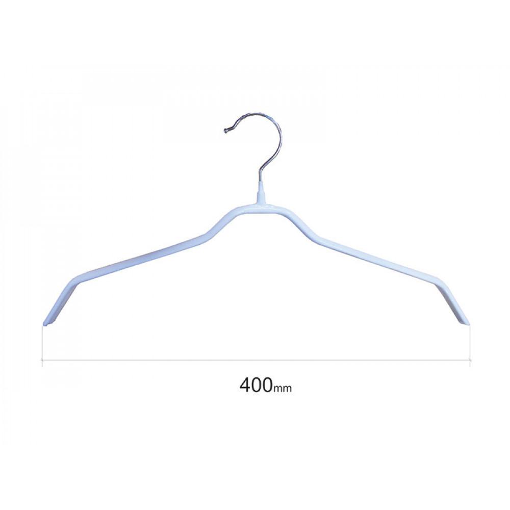 Плечики для одежды type 6 метал. 40см (белые)