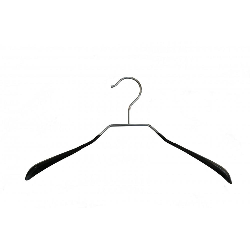 Плечики для одежды type 6А метал. 40см (черная)