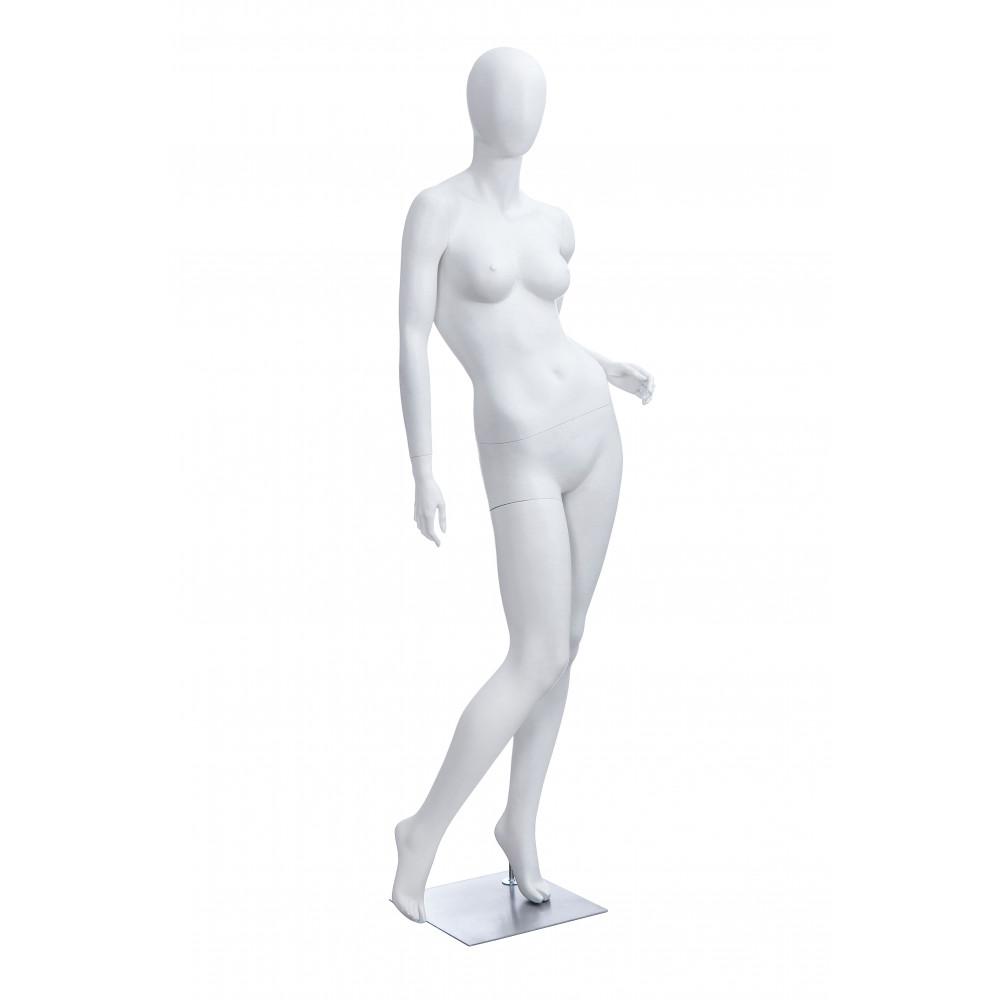 Манекен жіночий білий безликий, POLLY-4