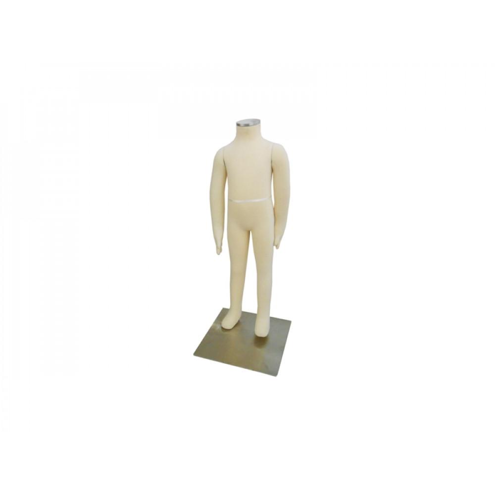 DY-4 Манекен детский трансформер без головы (обтянутый тканью)