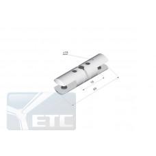 SP2-38  Двухсторонний  стеклодержатель поворотный (канал 9мм)