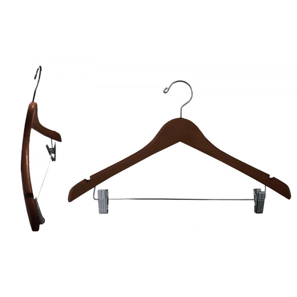 Плечики для одежды type 4ВМ (с прищепками, махонь)