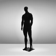 JSM-MAN-2 Манекен чоловічий чёрній безликий