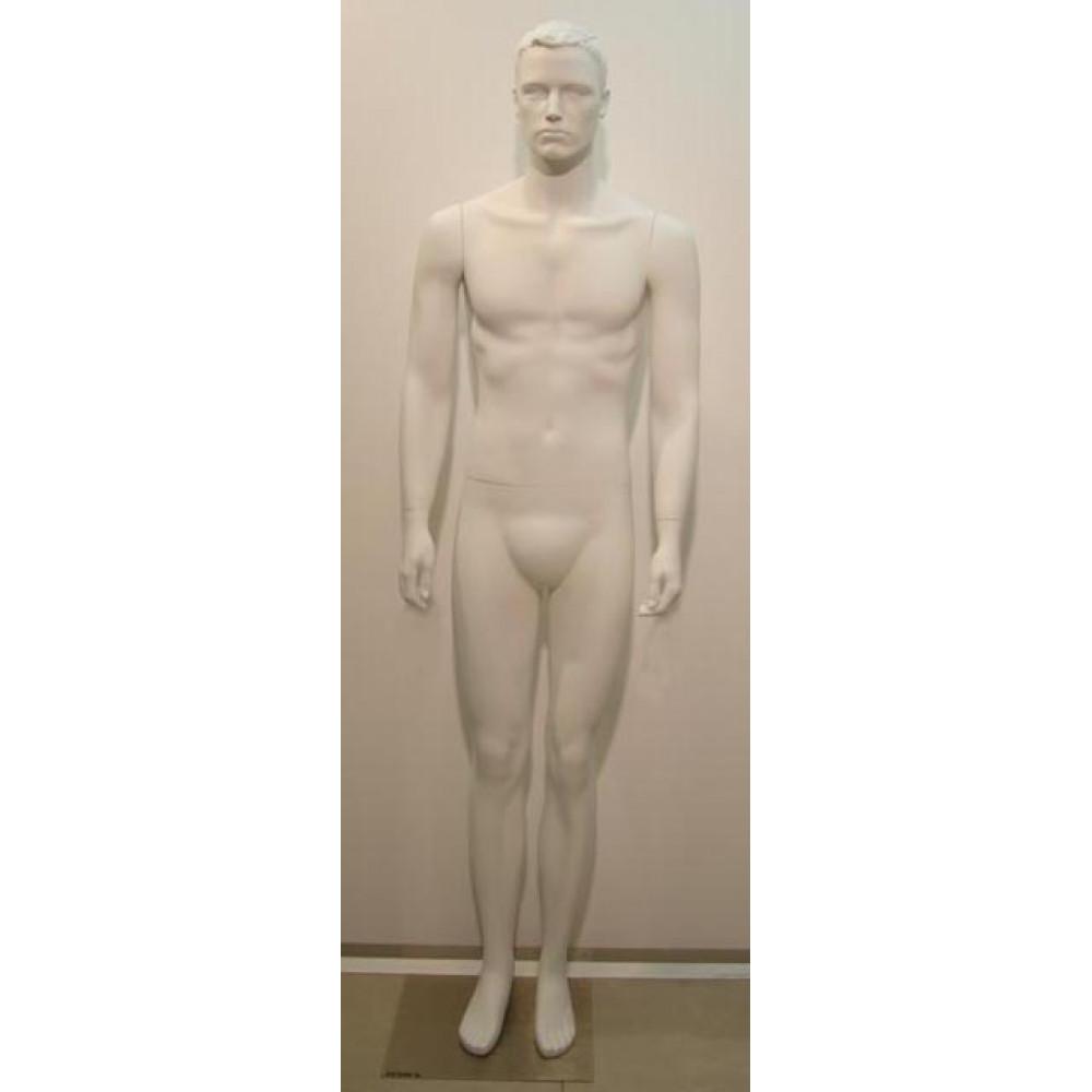 AY-10w/SM-Y Манекен мужской белый
