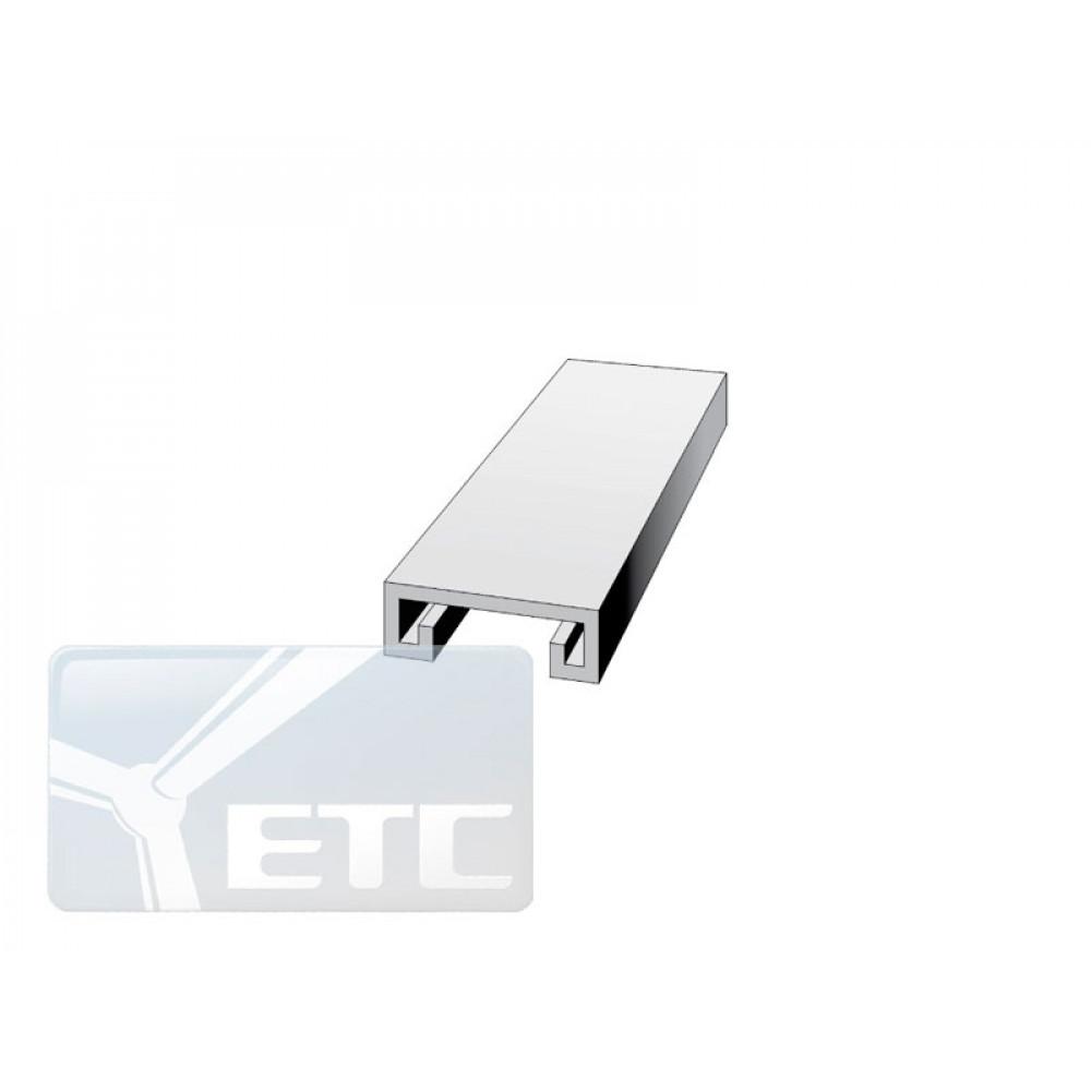 Профиль алюминиевый для системы GS (L2000mm)