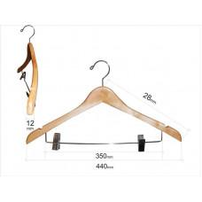 Вішаки для одягу з прищіпками для штанів  type 4В