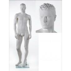 Манекен чоловічий ВА-04 head 8 (білий)