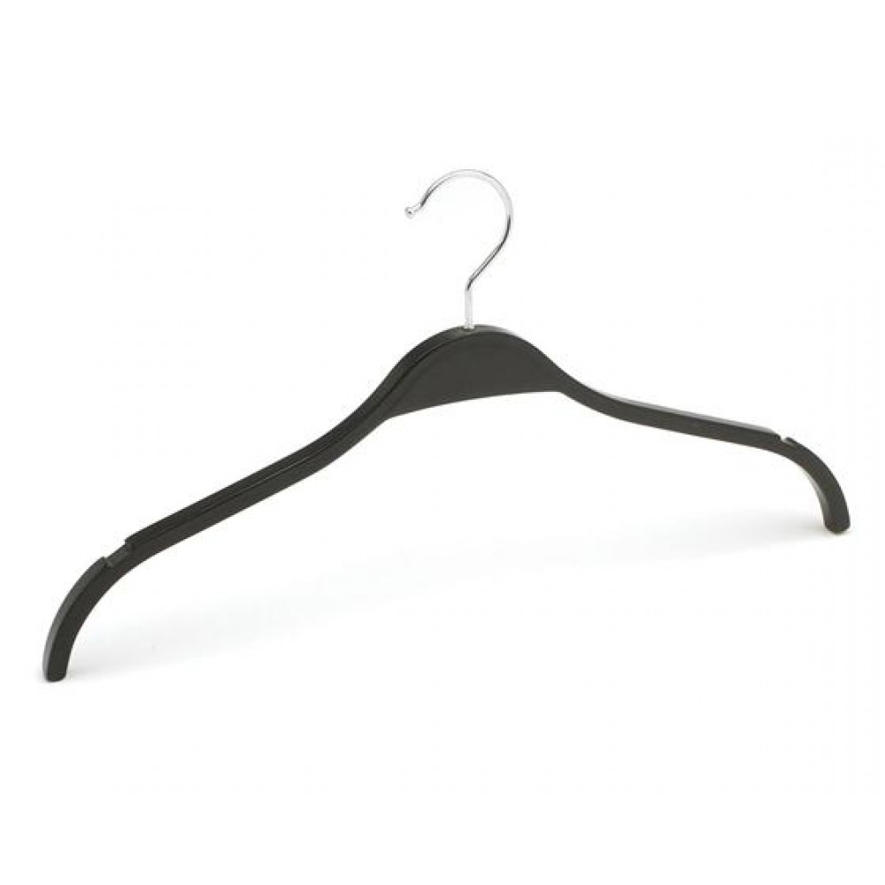 Вішаки для одягу пластикові чорні 420мм W-42 (007-12)
