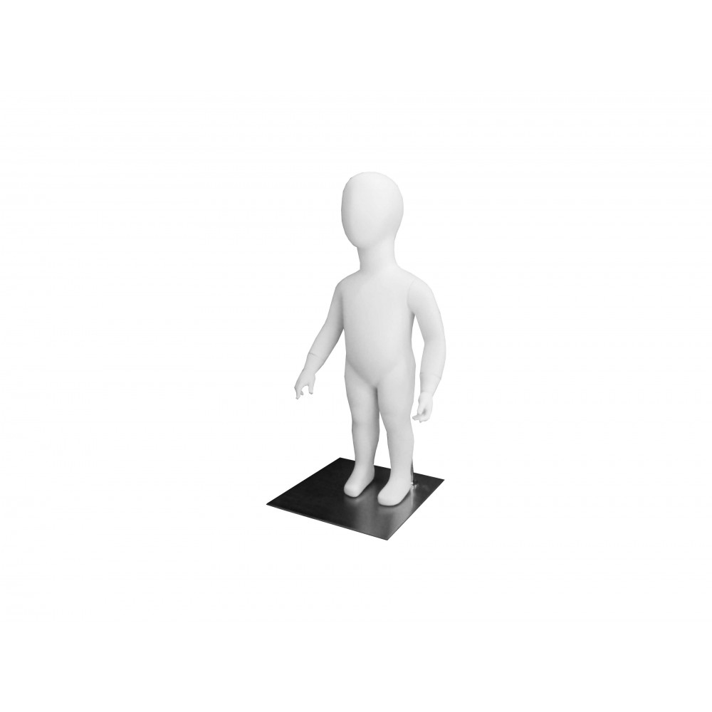 CHD- 9 Манекен детский безликий белый 71см