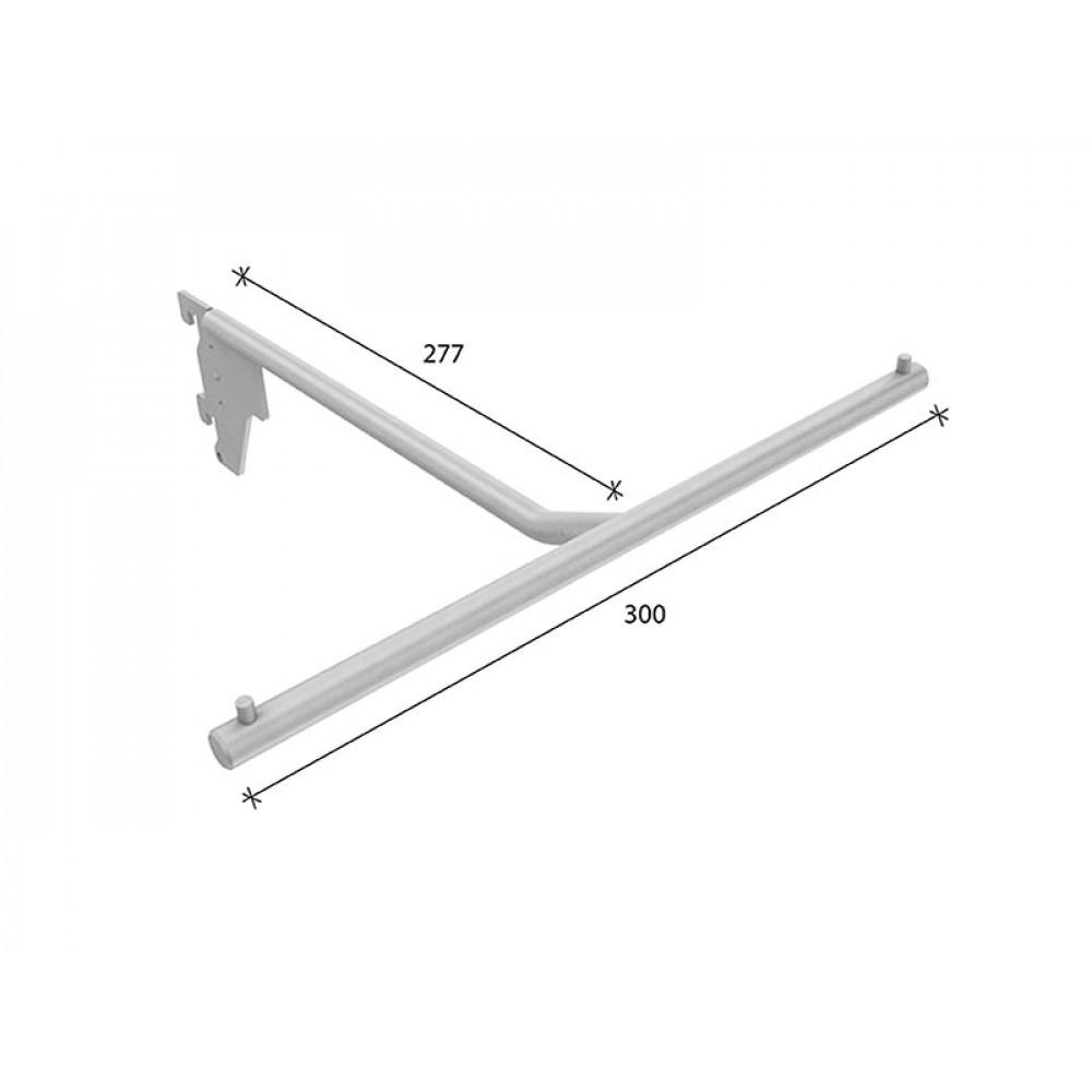 SL-H011 Кронштейн Т-образный 280*300мм (труба dm12 mm)