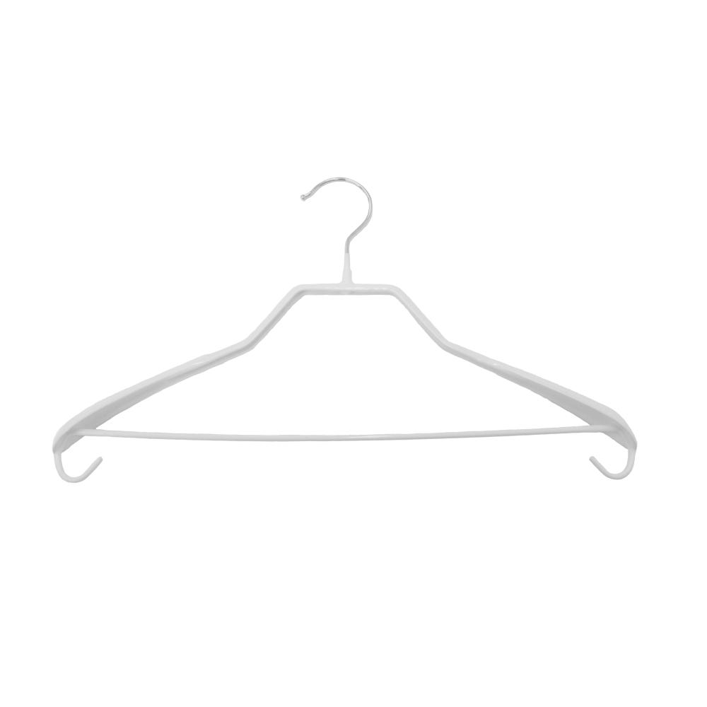 Плічкі для одягу металеві білі Type 6А ХА