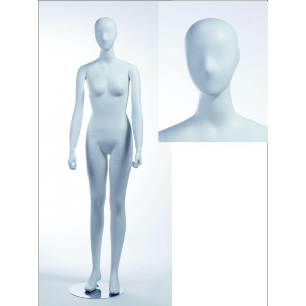 AE-5 Манекен женский белый реалистичный