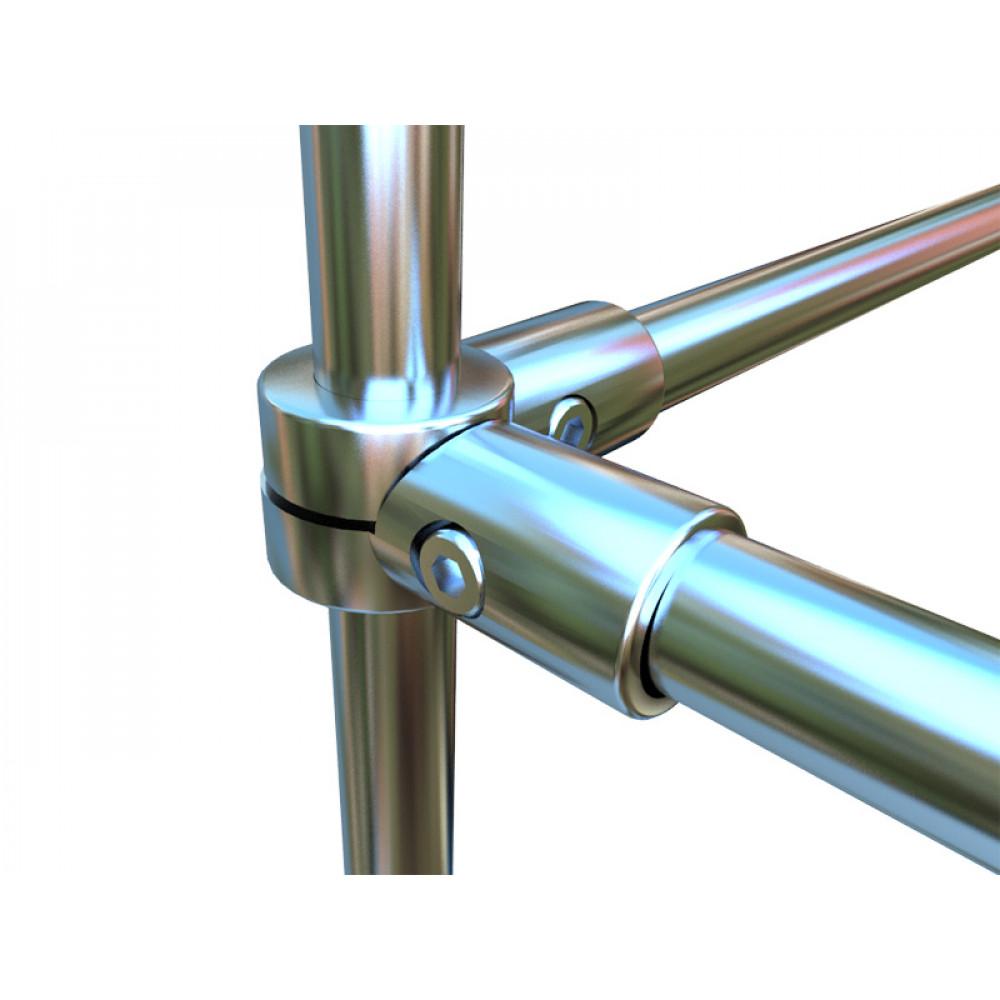 3043 Соединение для труб четырехстороннее