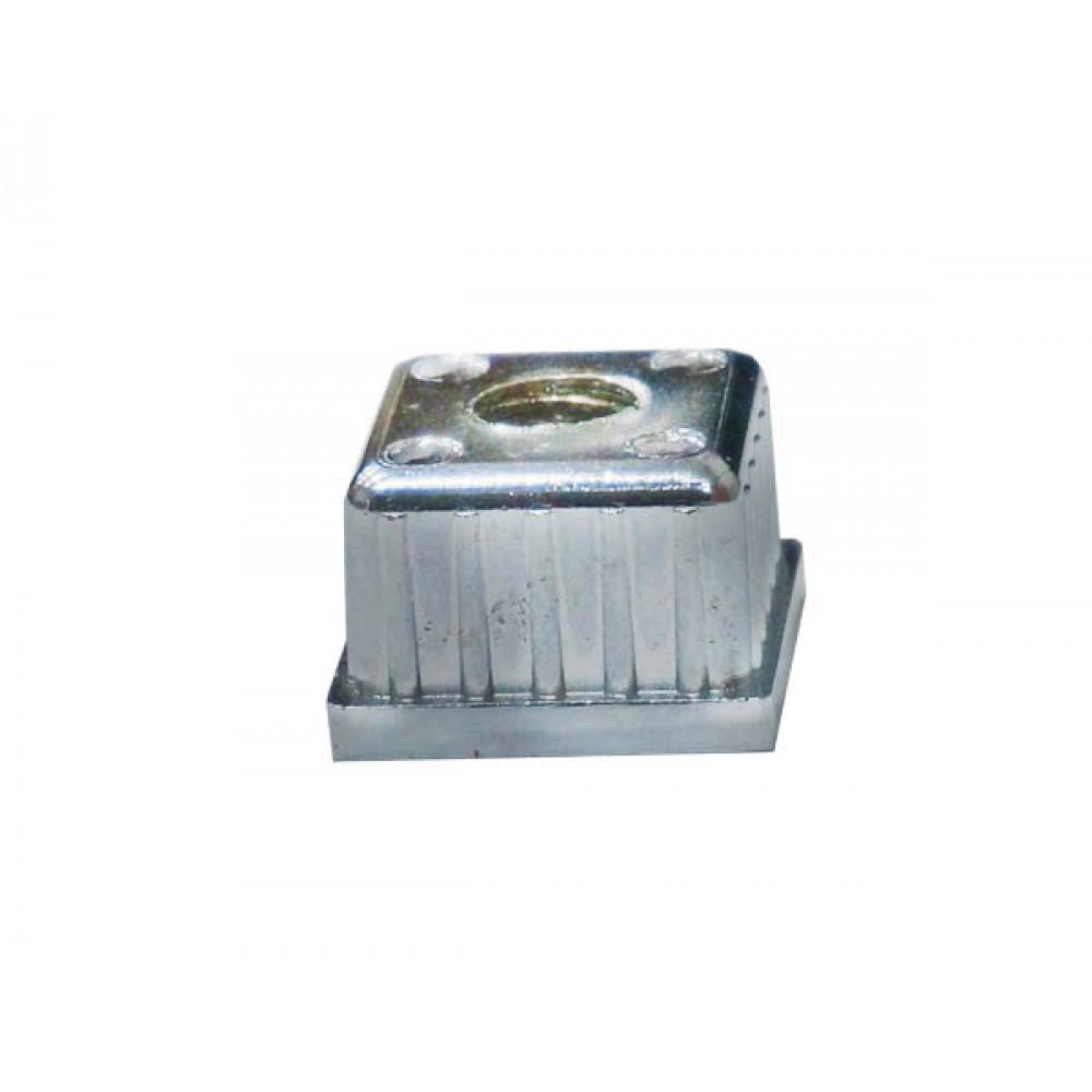Pr10 (К) Заглушка метал (25*25) с резьбой М10