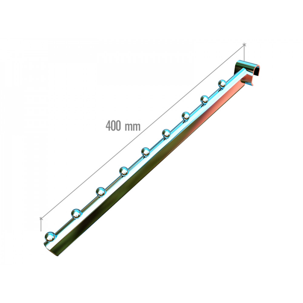 5025a tw Наклонный элемент, труба овал.25*12мм