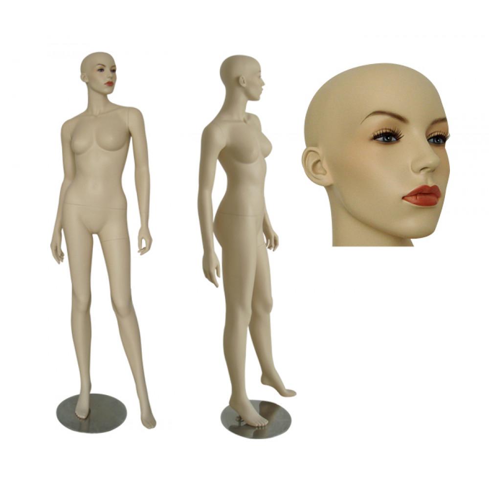 AA-6 Манекен женский телесный реалистичный (без парика)