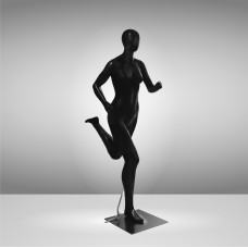 Манекен спортивный женский черный БЕГУНЬЯ JRF-RUNWOMAN-1