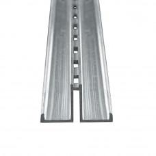 Профіль алюмінієвий одинарний ПАС 2186 ALIAS-001 (3000 мм)