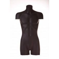Торс чоловічий T-BR25, чорний (без п'єдесталу)