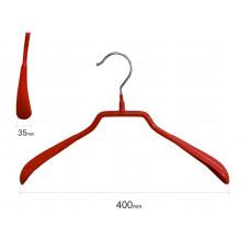 Плечики для одежды type 6А метал. 40см (красная)