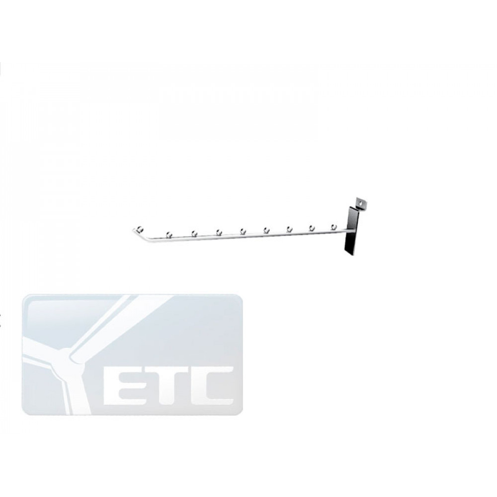 GD2183(К)   Крючок прямой с шарами 250мм
