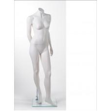 Манекен жіночий без голови MM-BG08 (RAL 9001)