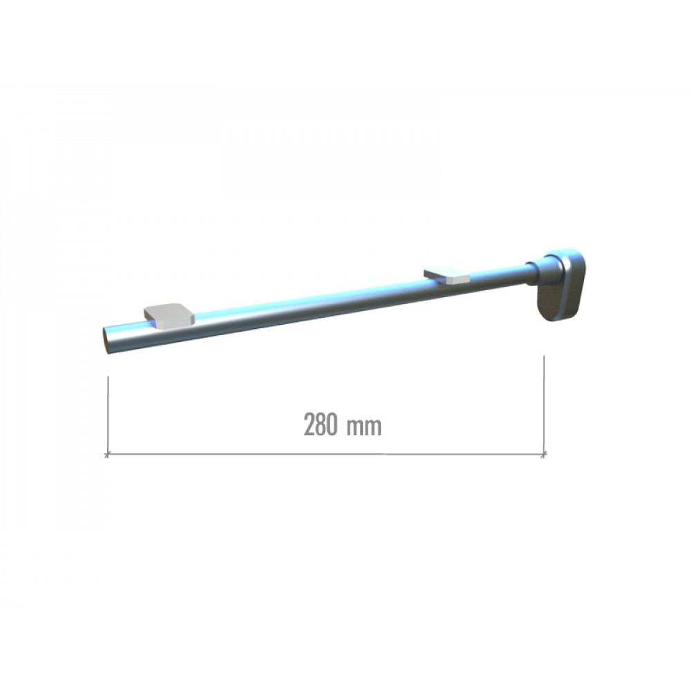 BT09 Кронштейн для стекла 280мм.