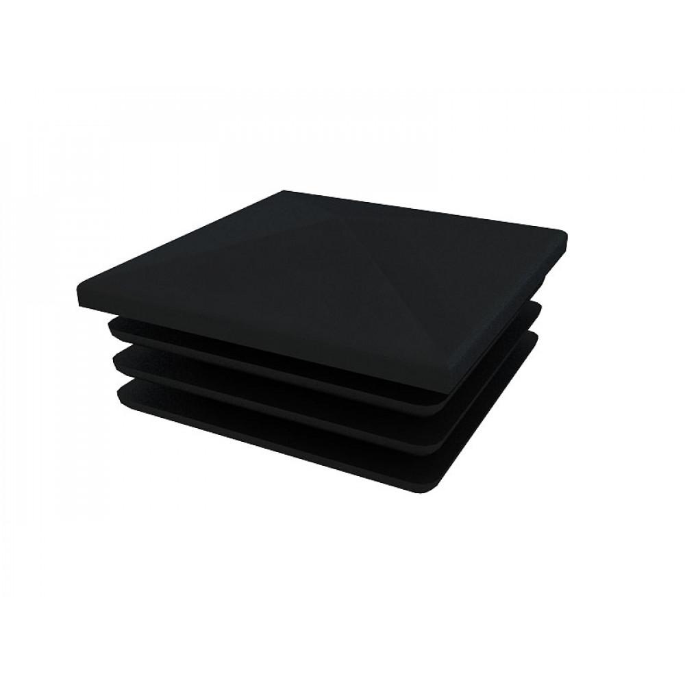 5012 Заглушка квадратая 30х30 (черная)