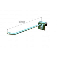 5034b Гачок на перекладину (150 mm), ширина зацепа 38мм