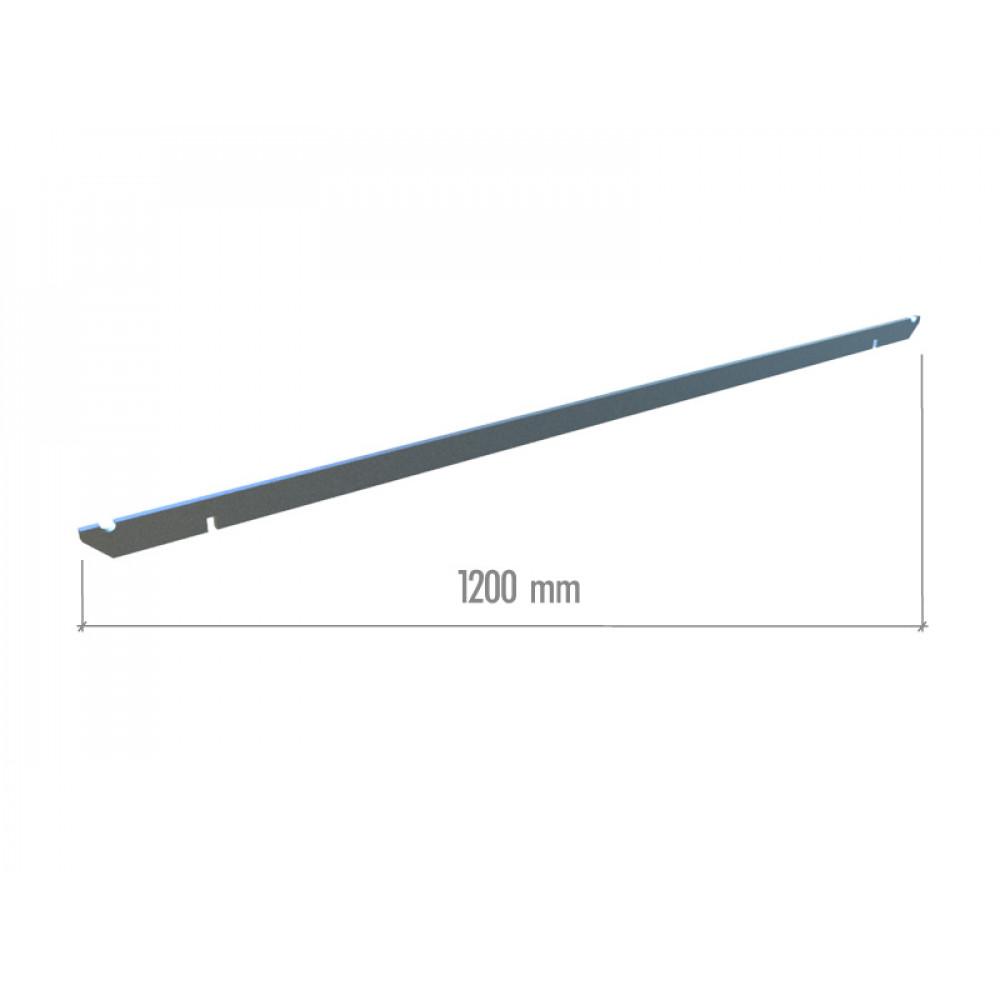 TN 003-2 Перекладина прямоугольная 1200мм.