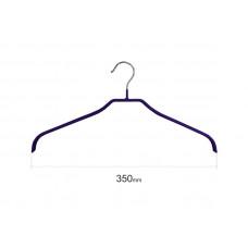 Плічка для одягу type 6 метал. 35см (синя)