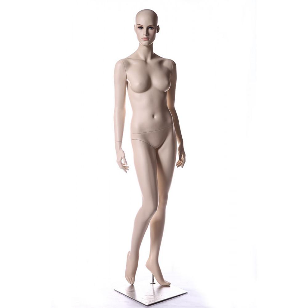 AU-11 Манекен женский телесный реалистичный (без парика)