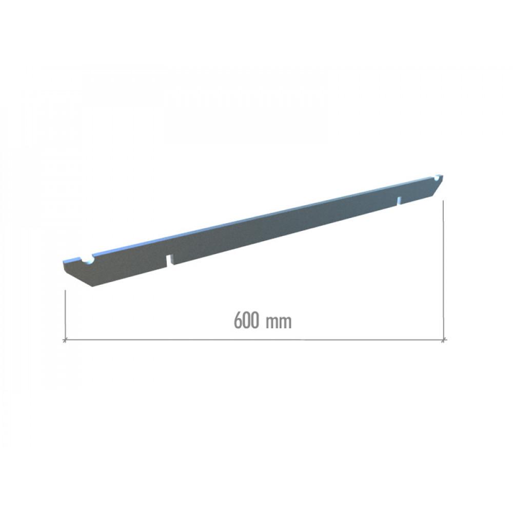 TN 003-1 Перекладина прямоугольная 600мм.
