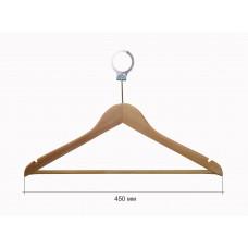 Вішак для одягу для готелів з поперечиною бук