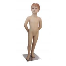 Манекен дитячий тілесний реалістичний (дівчинка 106 см), Ch-10
