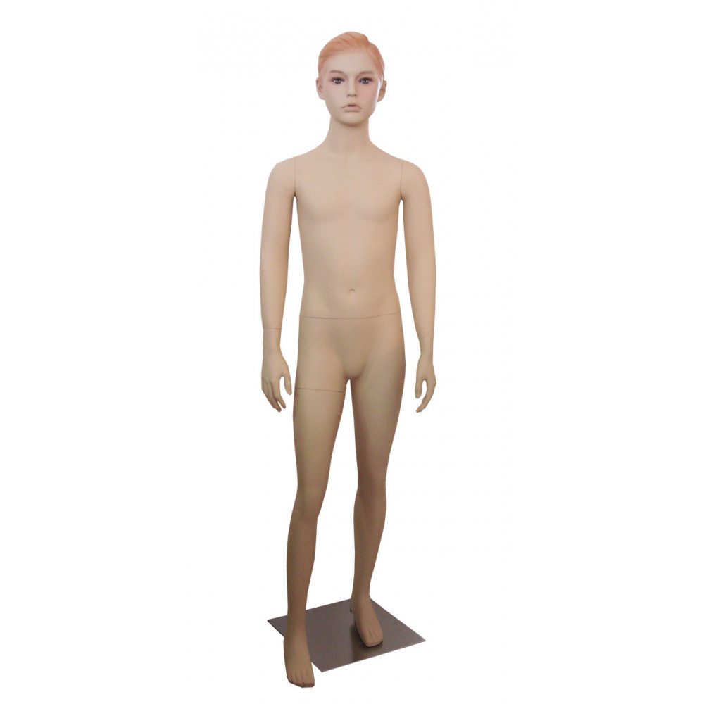 Ch-11 Манекен детский телесный реалистичный (девочка145см)