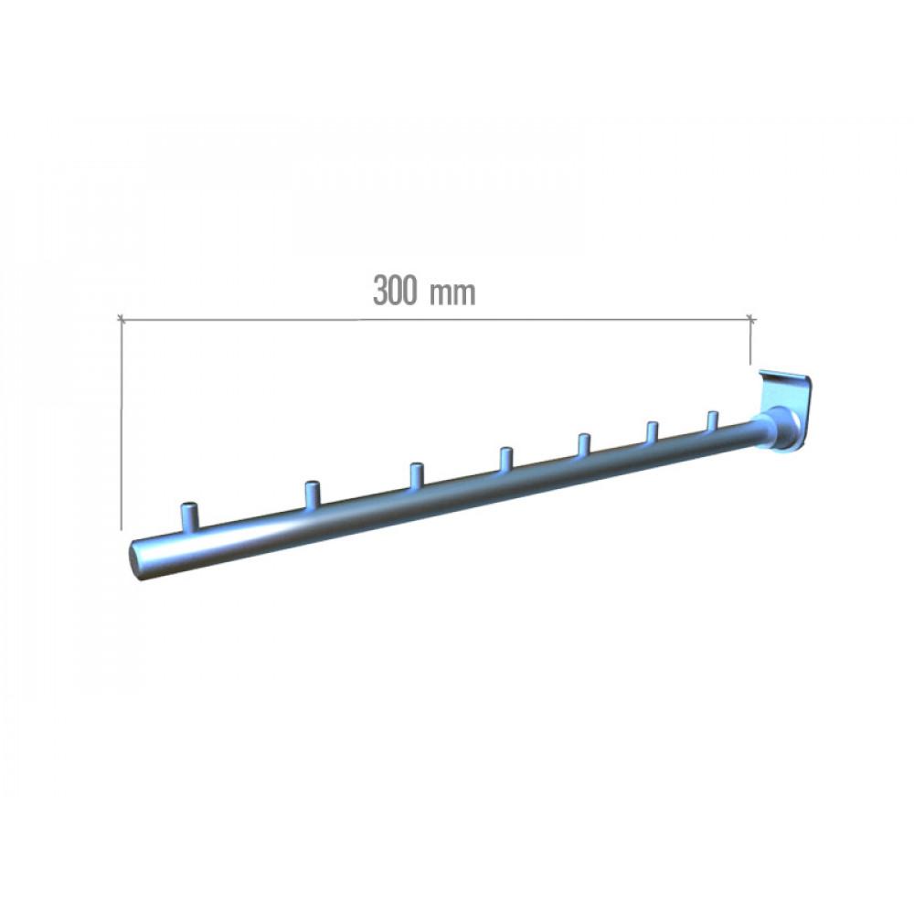 ML12 Кронштейн прямой с ограничителями 300мм.