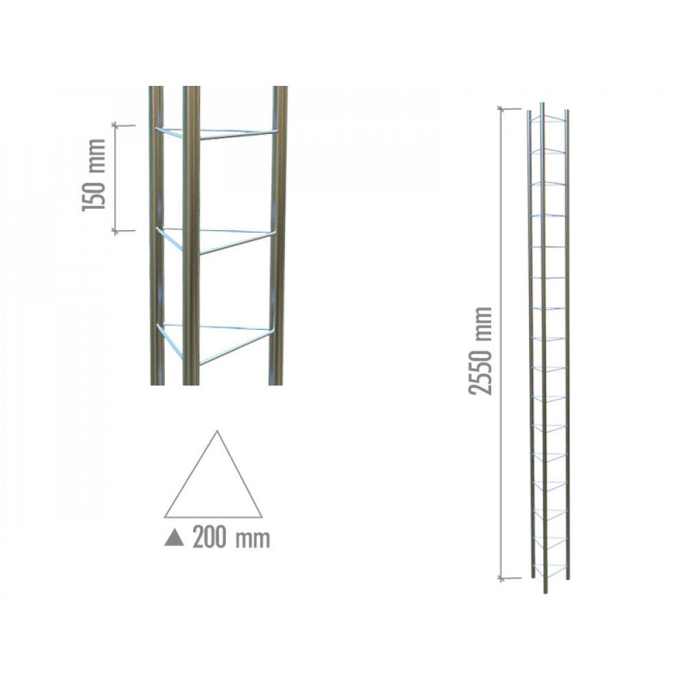 4100 Модуль объемный треугольний 2550