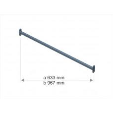 1043b Стяжка для стійки S1042 (967mm) непофарбована.